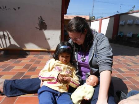 Jessica in Bolivia